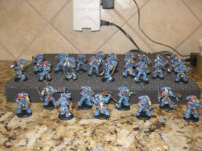 My first Space Wolves
