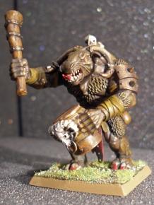 Minotaur Musician