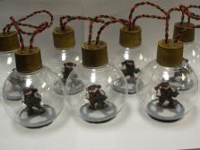 Christmas Marines Ornaments