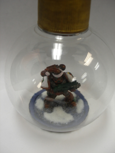Christmas Marines Ornament