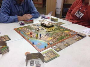 A look at the game in progress
