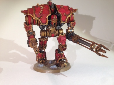 Khorne Decimator Demon Engine
