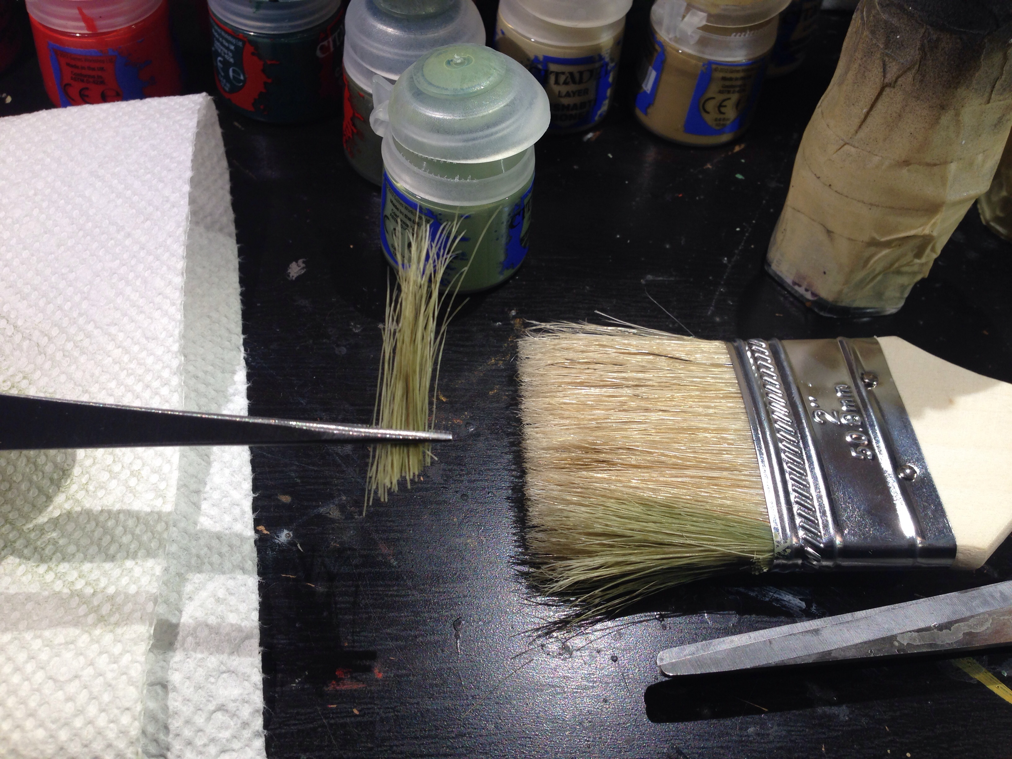 Hobby Tutorial: Long Grass Basing | Guslado's Games