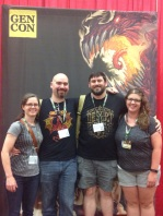 Our Gen Con delegation together at last!