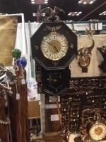 Very cool clock (it had hatching dragon eggs!)