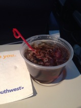 Kicking the trip off with a Jack & Coke on the flight!