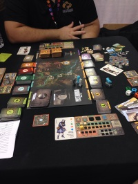 Posthuman from Mr. B Games. Sadly not available for purchase, but I will be pre-ordering it from my FLGS ASAP