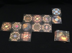 The tiles that make up Drakon's dungeon.