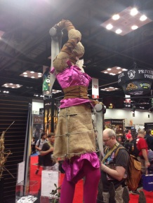 A nice view of the Coryphee statue at the Wyrd booth