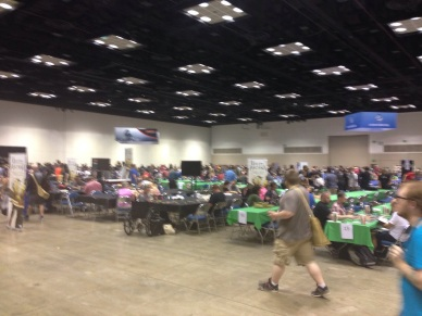 The events hall is massive!