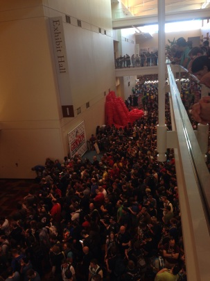 Seriously, I cannot stress enough the staggering size of this crowd.