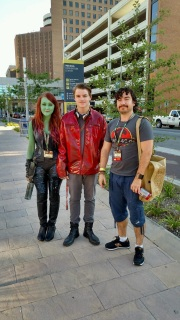 Great Guardians of the Galaxy cosplay
