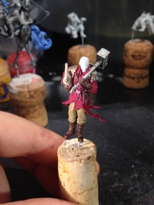 My Rocketeer inspired Captain has a little more progress.