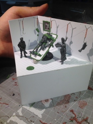 I'm liking how this diorama looks!