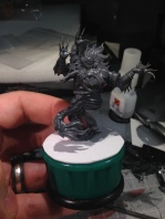 Banasuva on the base I am working on for him.