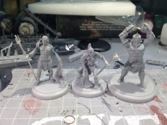 Some of my gladiators for Arena Rex! I can't wait to get some paint on these and the other great models for this game!