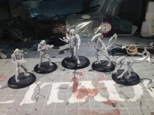 Alien vs. Predator! I am impressed with the detail in these miniatures. This is going to be tons of fun to paint.