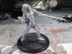 Predator! This is going to be a challenge to paint; I'm looking forward to it.