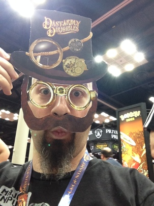I think I found my new look at Gen Con! Unfortunately the game did not come with this smashing outfit.