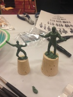 The results of my Greenstuff sculpting class