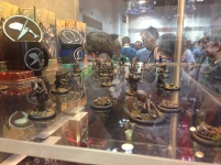 The Guild Ball Display models looked great!