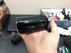 And speaking of cameras, here;s my new video camera!
