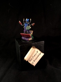 Silver Medal in Single Miniature at GenCon 2017 (Arcane Effigy)