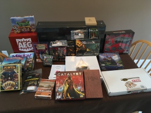 The obligatory Gen Con haul photo
