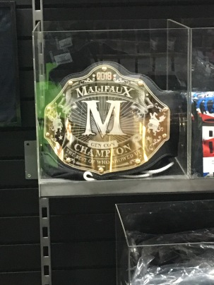The Malifaux Champion's belt!